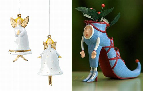 Креативные елочные игрушки