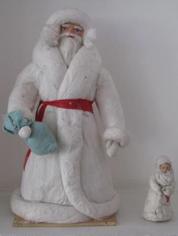 Ватный дед мороз ссср своими руками