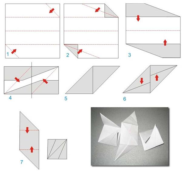 Как сделать из бумаги новогодние игрушки просто